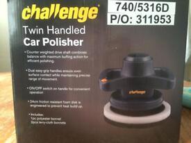 challenge twin handled car polisher brand ne