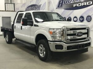 2016 Ford Super Duty F-350 SRW CrewCab XLT Flat Deck 6.2L