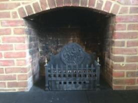 Cast Iron Fire Grate / Fire Basket