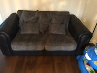 3 peice sofa set and swirl chair