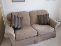 Large two fabric sofa originally from Next