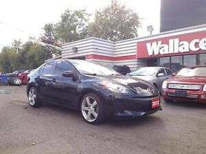 2012 Mazda Mazda3 GX  Loaded Auto Alloys Low KMS