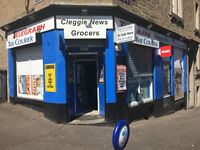 Dundee, Cleghorn St Newsagent for sale, all offers considered.
