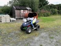 Apache quad 100cc 2 Stoke