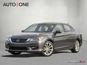2014 Honda Accord Touring V6-NAV-LEATHER-CAM