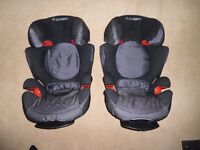 2 Maxi Cosi Rodi XR children's car seats 15-36 kg (1 for £25.-- or 2 for £40.--)