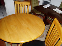 Dining Table and Two Matching Chairs