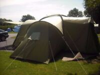 Coleman Tent 'Saltlake' Sleeps upto 9 People!