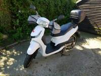 Peugeot 125cc full service. 11 months MOT. 1 previous owner
