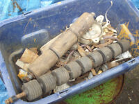 Box of spares for Suffolk Punch Lawn Mower Collection only