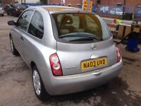 Nissan micra 2003,10 Months MOT, Automatic,reliable car