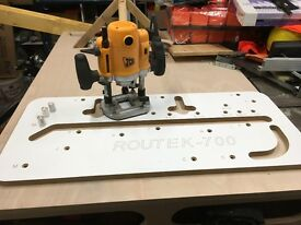 Router, Cutters and Kitchen Worktop Jig