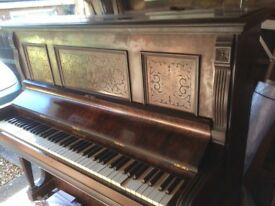Piano - upright with stool