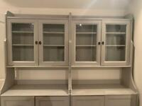 Display cabinet x 2 £60 each or £100 for both