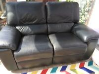 Two Seater Sofa and Chair all Electric Reclining