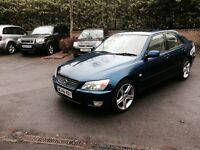 2000 LEXUS IS200 AUTOMATIC LOVELY CAR WITH 12 MONTH MOT 680