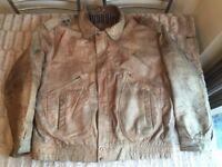 Mans Genuine Leather Jacket