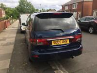 Toyota previa 7 seater diesel 2005