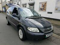 52 PLATE CHRYSLER VOYAGER. 7 SEATER. PETROL. 12 MONTHS MOT. PX WELCOME