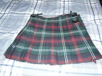 hand made Geoffery (Tailor) 8yrd 18oz all wool men's kilt outfit