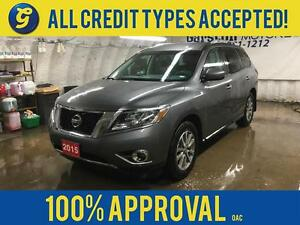 2015 Nissan Pathfinder SV*4WD*7 PSSENGER*BACK UP CAMERA W/SENSOR