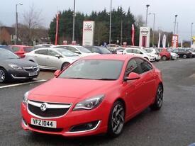 Vauxhall Insignia SRI VX-LINE CDTI ECOFLEX S/S (red) 2014-01-22