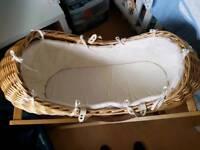 Chicco steriliser and moses basket