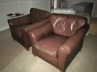 Genuine Leather Marks & Spencer 'Abbey' Arm Chair