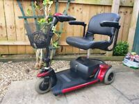 Pride GoGo Elite Traveller Plus Mobility Scooter - 4mph - VGC - Easily Dismantles To Fit In Boot