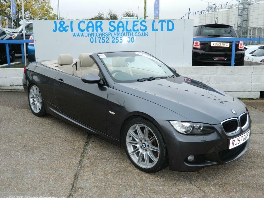 BMW 3 SERIES 2.0 320I M SPORT 2d 168 BHP A GREAT EXAMPLE INSIDE AND OUT (grey) 2007