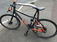 Bicycle Voodoo marasa + lock