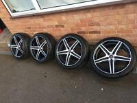 Bmw alloy wheels alloys 5x120 18""