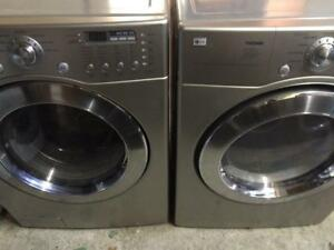 9 -  Laveuse Sécheuse Frontales - LG  TROMM 4.2 Frontload  Washer dryer
