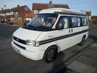 VW T4 Campervan built by Autosleeper, 4 Berth ready to go in great condition.