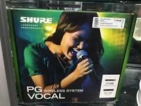 Shure PG Vocal - wireless microphone system PG58 BLX4