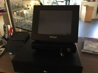 Uniwell cash register Epos touch screen