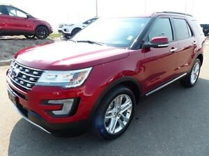 2017 Ford Explorer Limited, BLIS, NAV, SYNC3, Moonroof