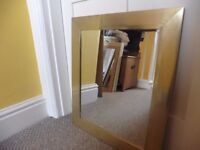 Mirror gold effect