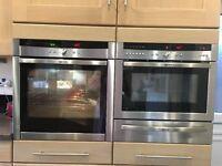 Neff Built in Oven B45E42.0GB Slide & Hide door. Good working order exceptional clean.