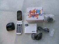 New Alba Mobile Flip Phone