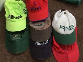7 golf caps