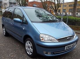 FORD GALAXY GHIA 1.9 TDI 130 BHP 7 SEATER 2005