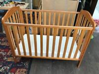 Pine Cot & Accessories