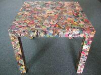 D C Comic Coffer table