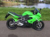 Kawasaki ER650F green
