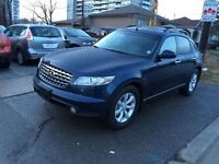 2005 Infiniti FX35 AUTO,A/C.AWD.ALL POWER OPTIONS,LEATHER AND SU