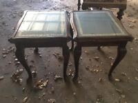 TWO Small Coffee Tables