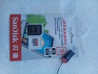 SanDisk Ultra micro SDHC/SDXC UHS-I MemoryCard 16GB 80MB/s+gift sd adapter brand new