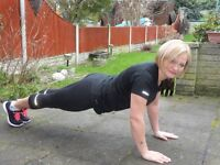 Female personal trainer from £25 per session