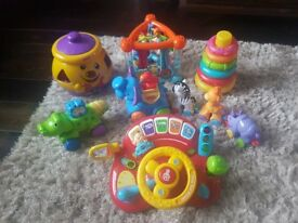 Baby Toy Bundle (Fisher Price, Vtech)